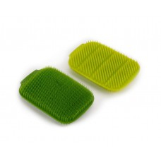 CleanTech™ Washing-up Scrubbers (Green/Dark Green)