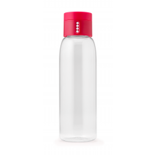 Dot Hydration-tracking Water Bottle 400 ml - Pink
